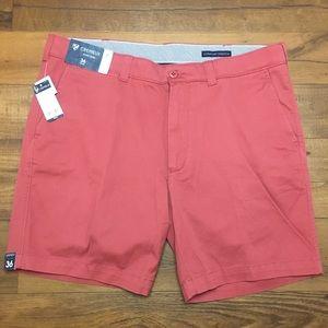 Cremieux Soho Slim Salmon Pink Golf Shorts New